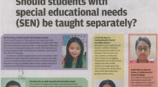 Should students with Special Educational Needs be taught separately